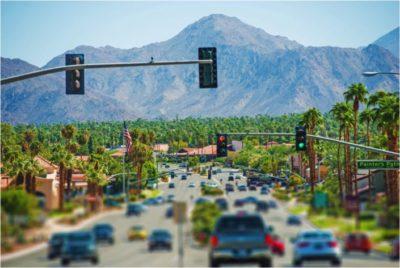Road, Cars & Traffic Lights